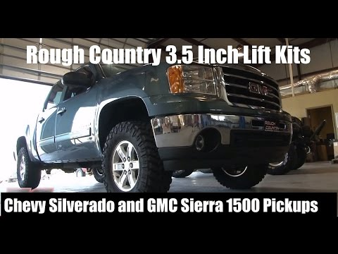 Rough Country 3.5 Inch Lift Kits for Chevy Silverado / GMC Sierra 1500 Pickups - Reviews + Tutorials