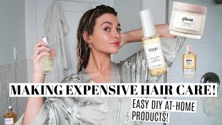 DIY HairCare Products! Recreating Expensive products at home!