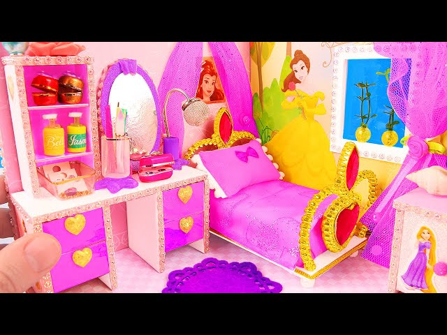 DIY Miniature Disney Princess Dollhouse thumbnail