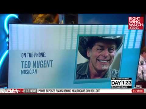 RWW News: Ted Nugent Attempts To Defend Himself Against Racism Charges