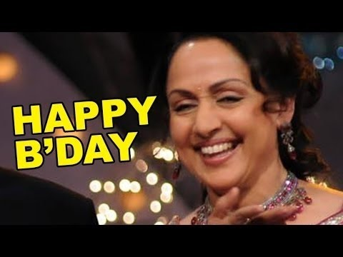 Bollywood's Dream Girl Hema Malini Turns 66