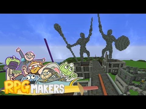 Minecraft - RPG Makers: Kingdom Build Day Part 1