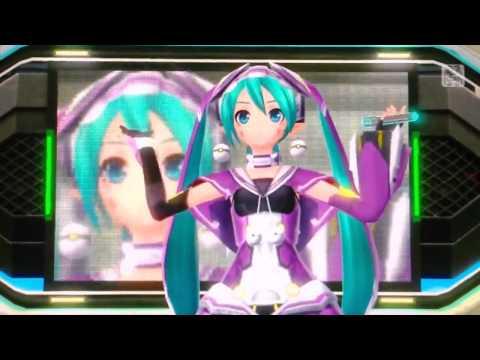 Music video Project DIVA f - Online Game Addicts Sprechchor (English/Romaji subs) - Music Video Muzikoo
