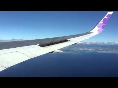 Hawaiian Airlines Flight 35 Landing From Phoenix Sky Harbor