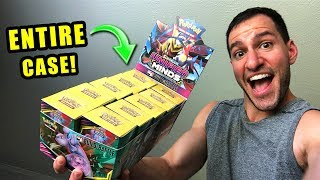 *ENTIRE CASE OF NEW POKEMON CARDS UNIFIED MINDS!* Opening UNIFIED MINDS Booster Box and Packs!