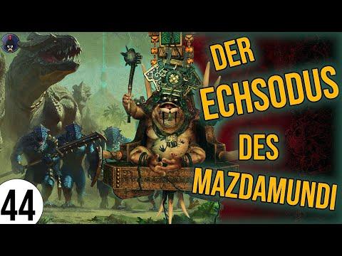 Total War: Warhammer 2 | 44 | Der ECHSODUS des Mazdamundi | Sehr Schwer