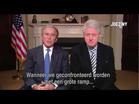 Hilarious speech fail (Bush & Clinton)
