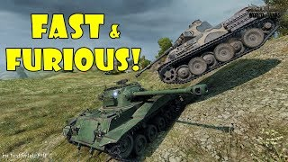 World of Tanks - Funny Moments | LIGHT TANK BONANZA!