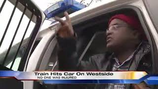 Ethiopian man got into train accident