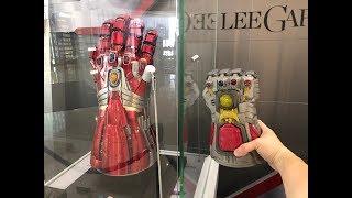REVEALED - Avengers Endgame unveiled items at Hot Toys exhibition