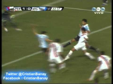 Peru 1 Argentina 1 Relato Federico Bulos  Eliminatorias Rumbo a Brasil 2014 Los goles