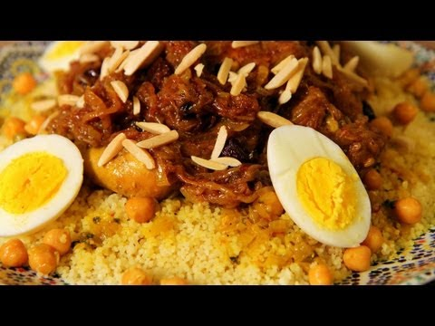Couscous Tfaya (Caramelized Onions) Recipe - CookingWithAlia - Episode 164