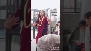 beautiful girl dance from nepal