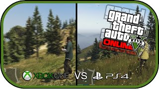 Grand Theft Auto V   PS4 vs  Xbox One Vs Ps4 Graphics Gta V