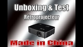 Download Retro projecteur Made In China Unboxing et Test FR 3Gp Mp4
