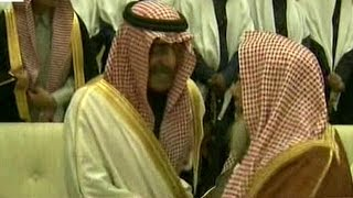 الملك سلمان وولي العهد يتلقيان البيعة في قصر الحكم بالرياض