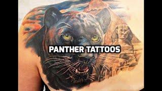Panther Tattoo Design Ideas