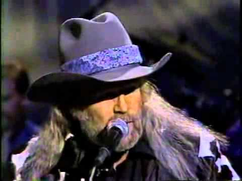 DAVID ALLAN COE - The Ride (Live Music Video)