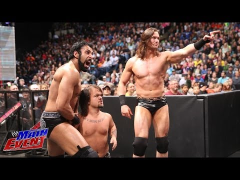 Los Matadores Vs. Drew Mcintyre & Jinder Mahal: Wwe Main Event, April 15, 2014 video