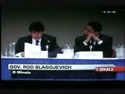Video Unearthed Barack Obama Rod Blagojevich 2005