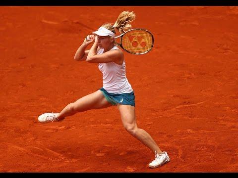 2016 Mutua Madrid Open Round of 16 | Daria Gavrilova vs Petra Kvitova | WTA Highlights