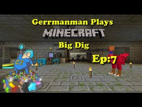 Minecraft Big Dig Ep:7 The New Home Base