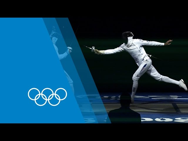 How to Epee with Fabian Kauter - Fencing guide   Faster Higher Stronger