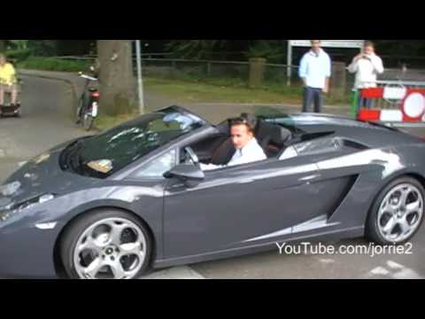 Gallardo Spyder sound! - accelerations - revs -
