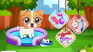 Puppy And Kitty Fun Care. Funny Game For Kid