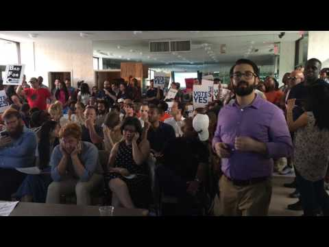 Chaos at CB 9 meeting on Bedford-Union Armory development