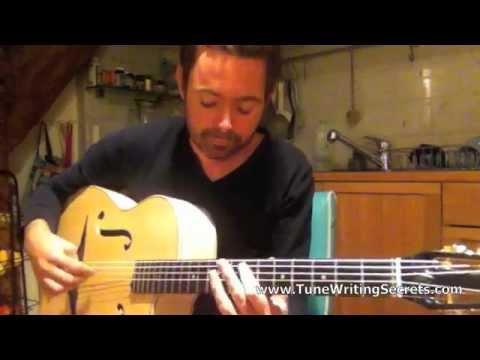 Gypsy Jazz Tune Writing Secrets - Robin Nolan Guitar Lessons