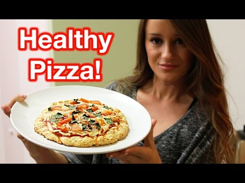 How To Make A Healthy Pizza!