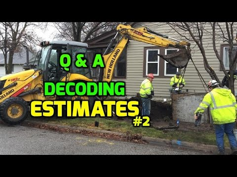 Q & A Decoding Estimates for Construction, Landscaping and Lawn care #2
