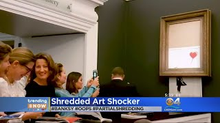 Trending: Expensive Shredded Art