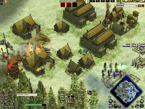 Age of mythology the TITANS 1V1 online match