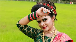 Maharashtrian Traditional Different Costume Koli Style Makeup Look / & Hair Style