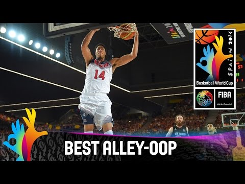 USA v New Zealand - Best Alley-Oop - 2014 FIBA Basketball World Cup