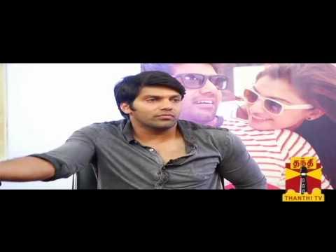 Sandhippoma @ Cinema Cafe - Raja Rani Team (Arya. Atlee Kumar) 22.09.2013 Thanthi TV