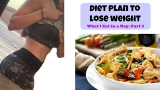 Diet Plan To Lose Weight | What I Eat in a Day Part 2