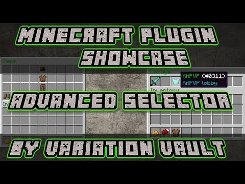 Advanced Selector | Lobby/teleporter | Minecraft Bukkit Plugin