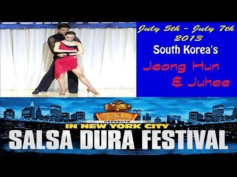 Jeong Hun Lee & Juhee Jung (South Korea) | NY Salsa Dura Festival 2013 | Salsa Performance