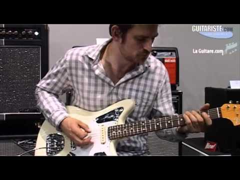 [Musik Messe 2012] Fender Jaguar Johnny Marr Signature en vidéo