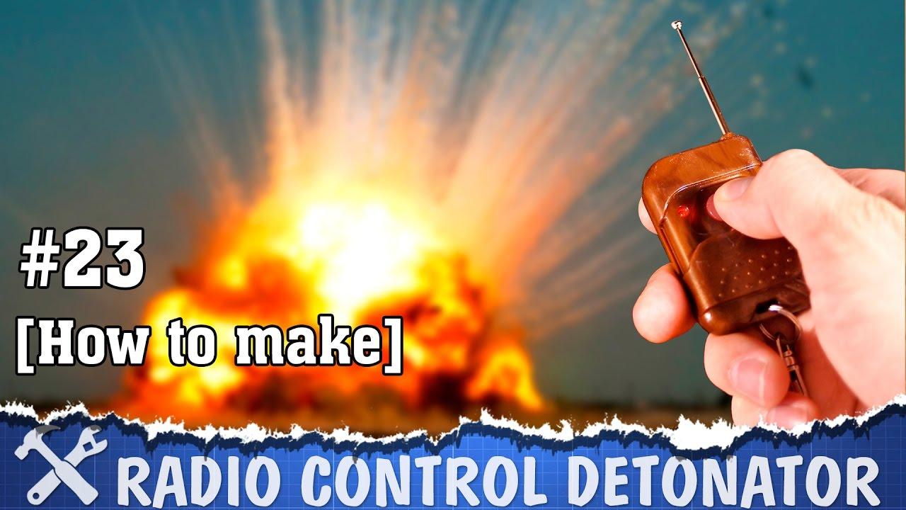 Дистанционный детонатор своими руками 78
