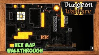 Dungeon Warfare 2 Hex Map Walkthrough [Chakram Trap Build]
