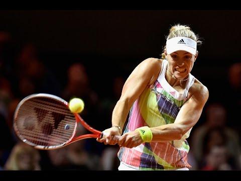 2016 Porsche Tennis Grand Prix Second Round | Angelique Kerber vs Annika Beck | WTA Highlights