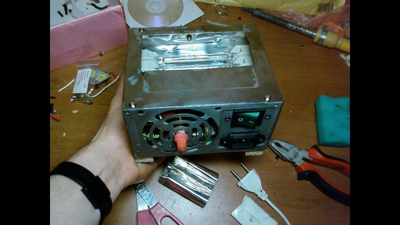Паяльная станция из блока питания компьютера своими руками 25