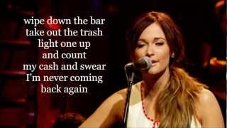 Blowin' Smoke Kacey Musgraves lyrics