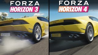 Forza Horizon 4 vs Forza Horizon 3 | Direct Comparison