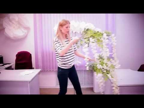 Гигантский Декор Свадебного Стола . a giant wedding decor. Idea.   NINA DARINA