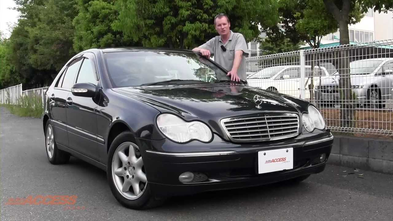 2001 mercedes benz c240 with leather and 81k klms for for Mercedes benz japan
